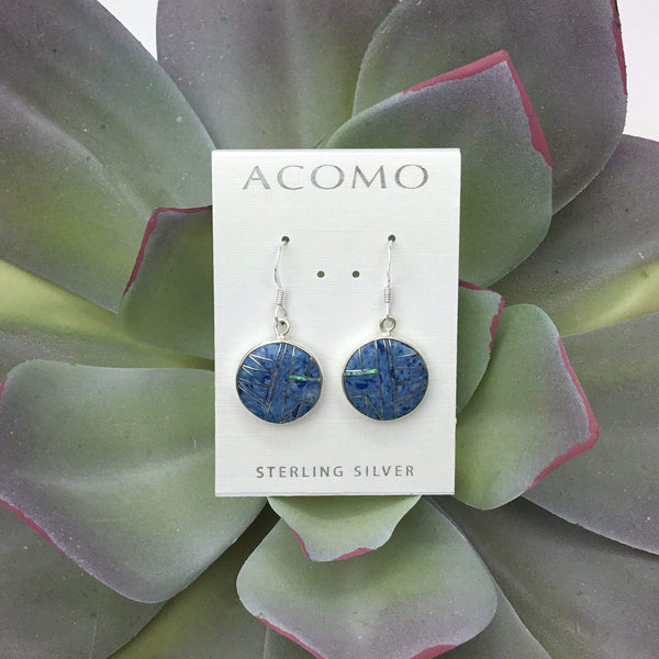 Denim Lapis & Opal Earring Utopianorthwest