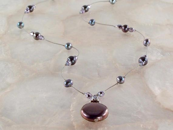 Freshwater Pearl Necklace Utopianorthwest