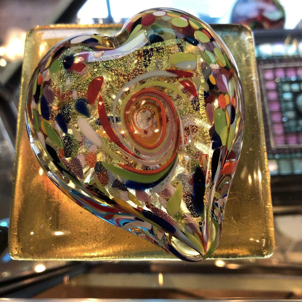 Heart of Fire Art Glass Utopianorthwest