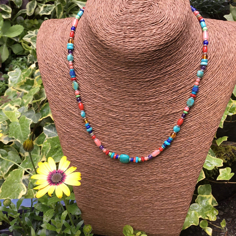 Multi Gem Necklace Utopianorthwest