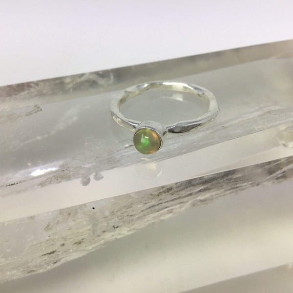 Opal Ring- October's Birthstone Utopianorthwest