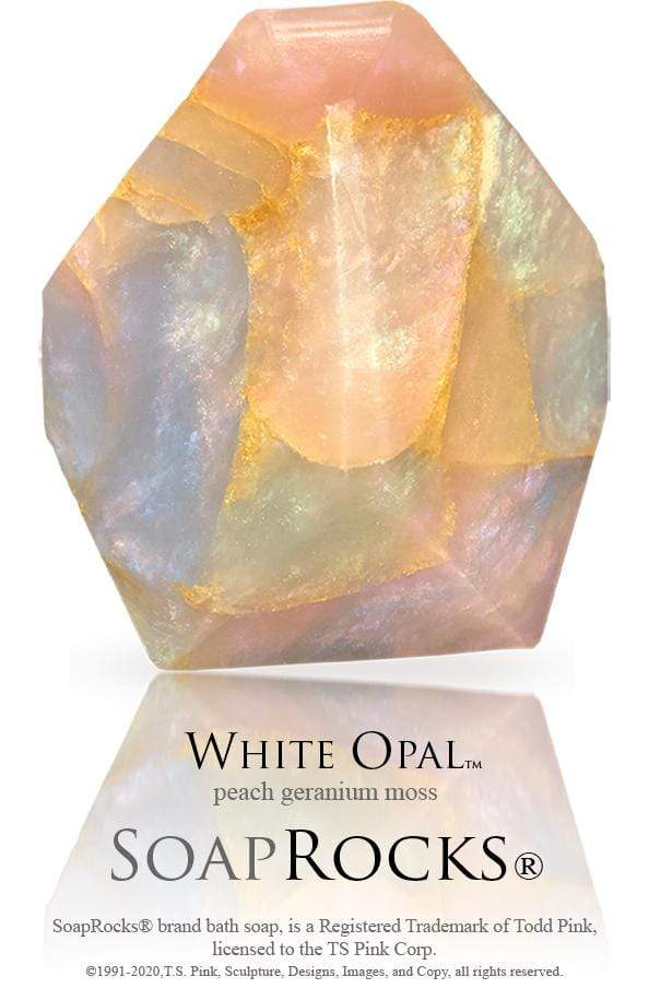 White Opal SoapRocks Utopianorthwest