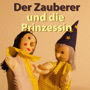 "Kasperl episode 4: ""The Magician and the Princess"" funny radio play on TheBedtimeStory.online as free mp3 download"