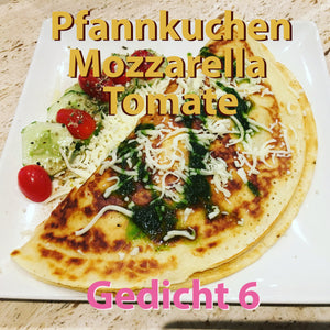 "Poem 6: ""Pancake Mozzarella Tomato"" a musical poem by Ralf Christoph Kaiser for free mp3 download on TheBedtimestory.online"