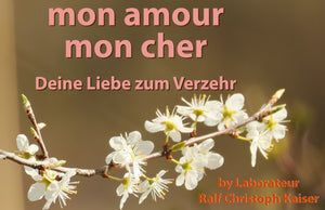 "The new fragrance from laboratory technician Ralf Christoph Kaiser:""mon amour mon cher - your love for consumption"""