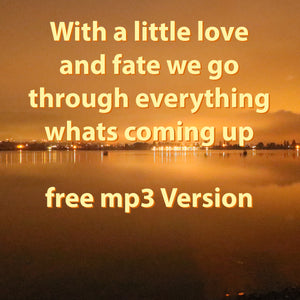 "free mp3 download of the new brass hit: ""With a little love and fate we go through everything whats coming up"" in D-Major by Ralf Christoph Kaiser"