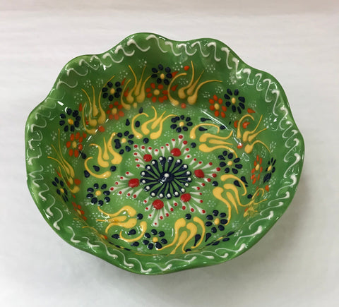 Turkish Pottery Medium Tart Bowl