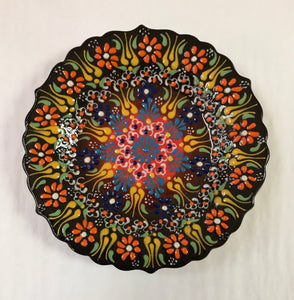 Turkish Pottery Appetizer Plate
