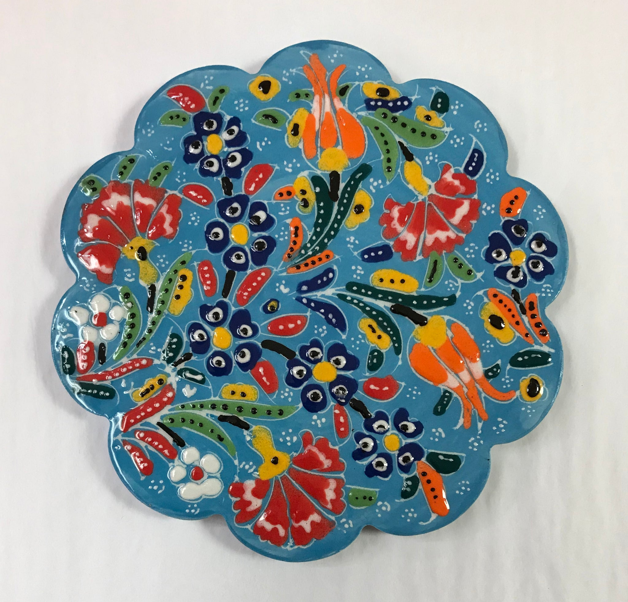 Turkish Pottery Trivet