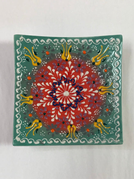 Turkish Pottery Plate 5""