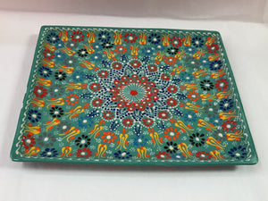 Turkish Pottery Large Plate
