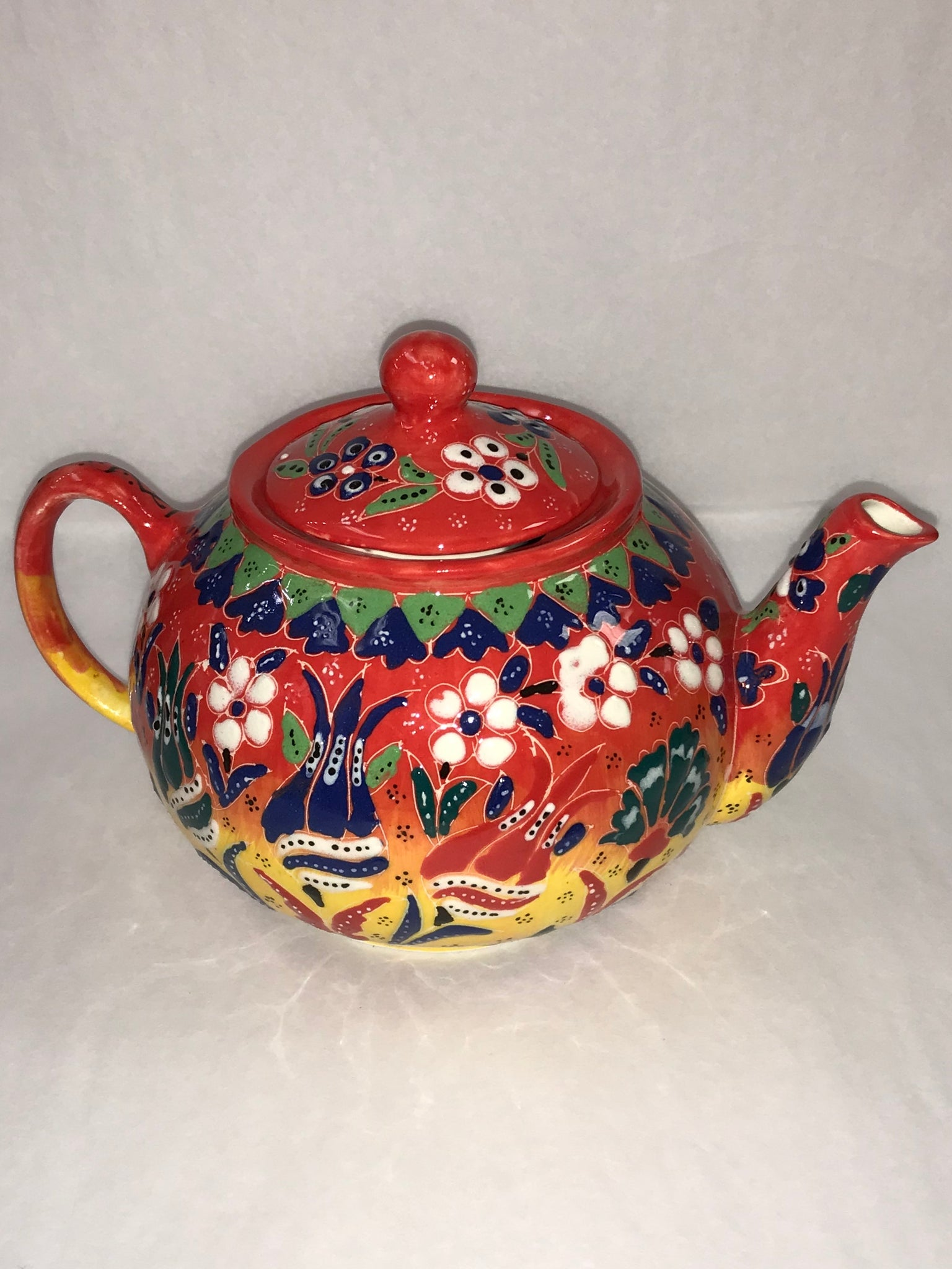 Turkish Pottery Tea Pot