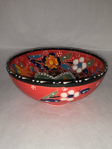 Turkish Pottery Bowl Large