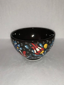Turkish Pottery Footed Bowl