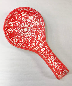 Turkish Pottery Spoon Rest