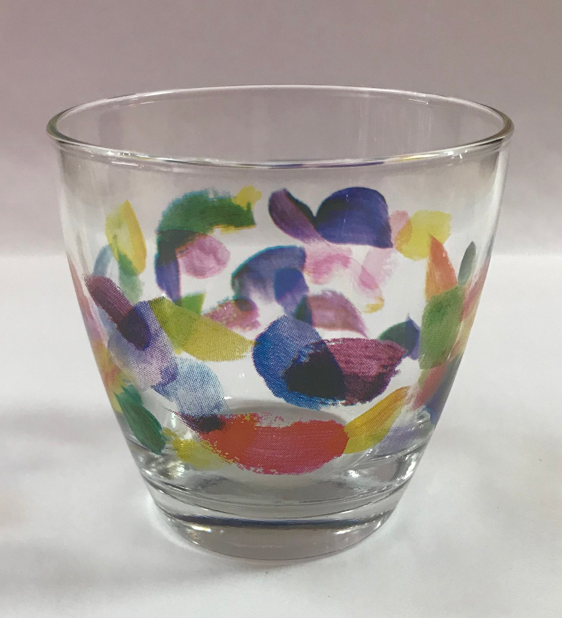 Brush Strokes Glass Tumbler