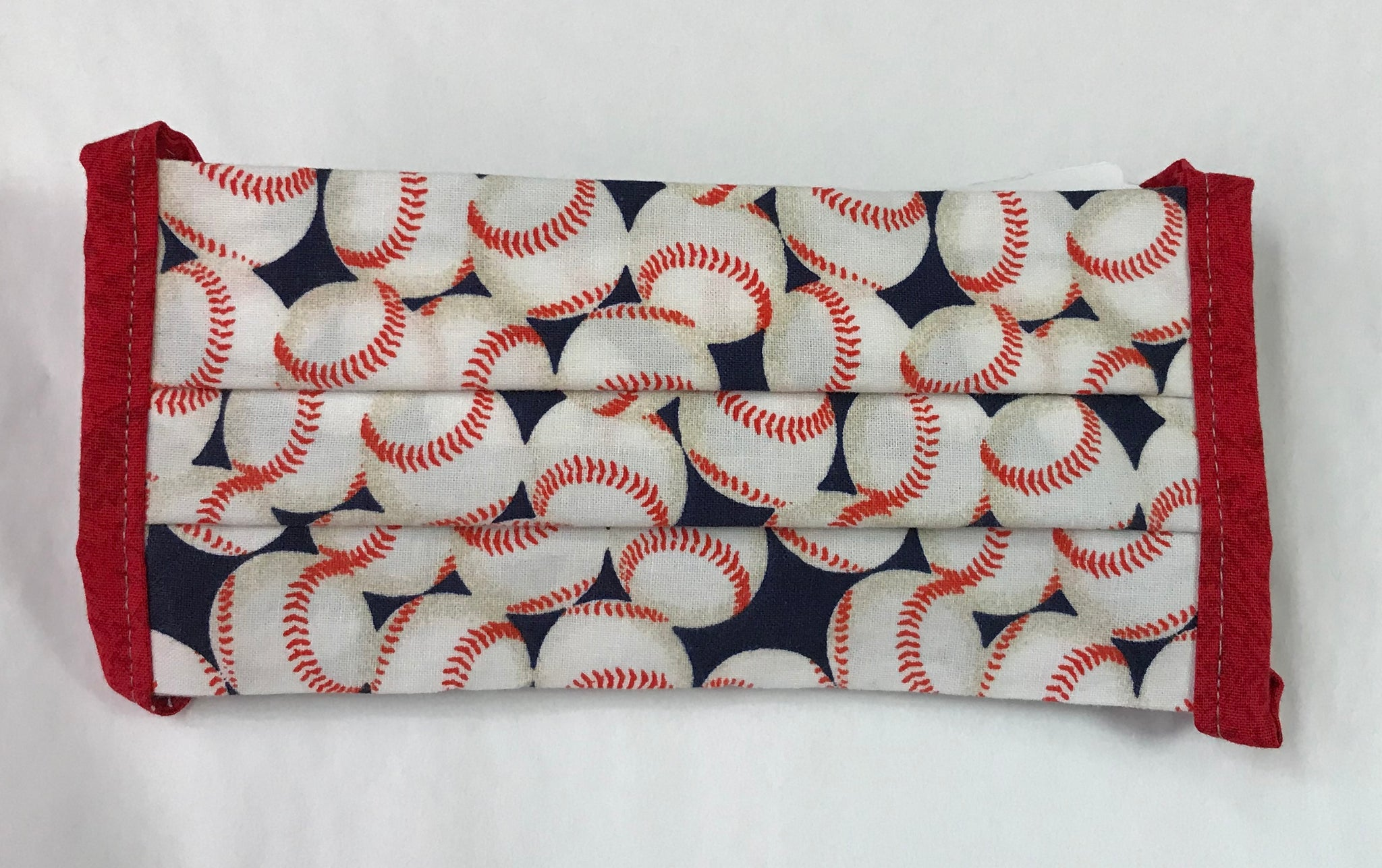 Baseball Print Face Mask