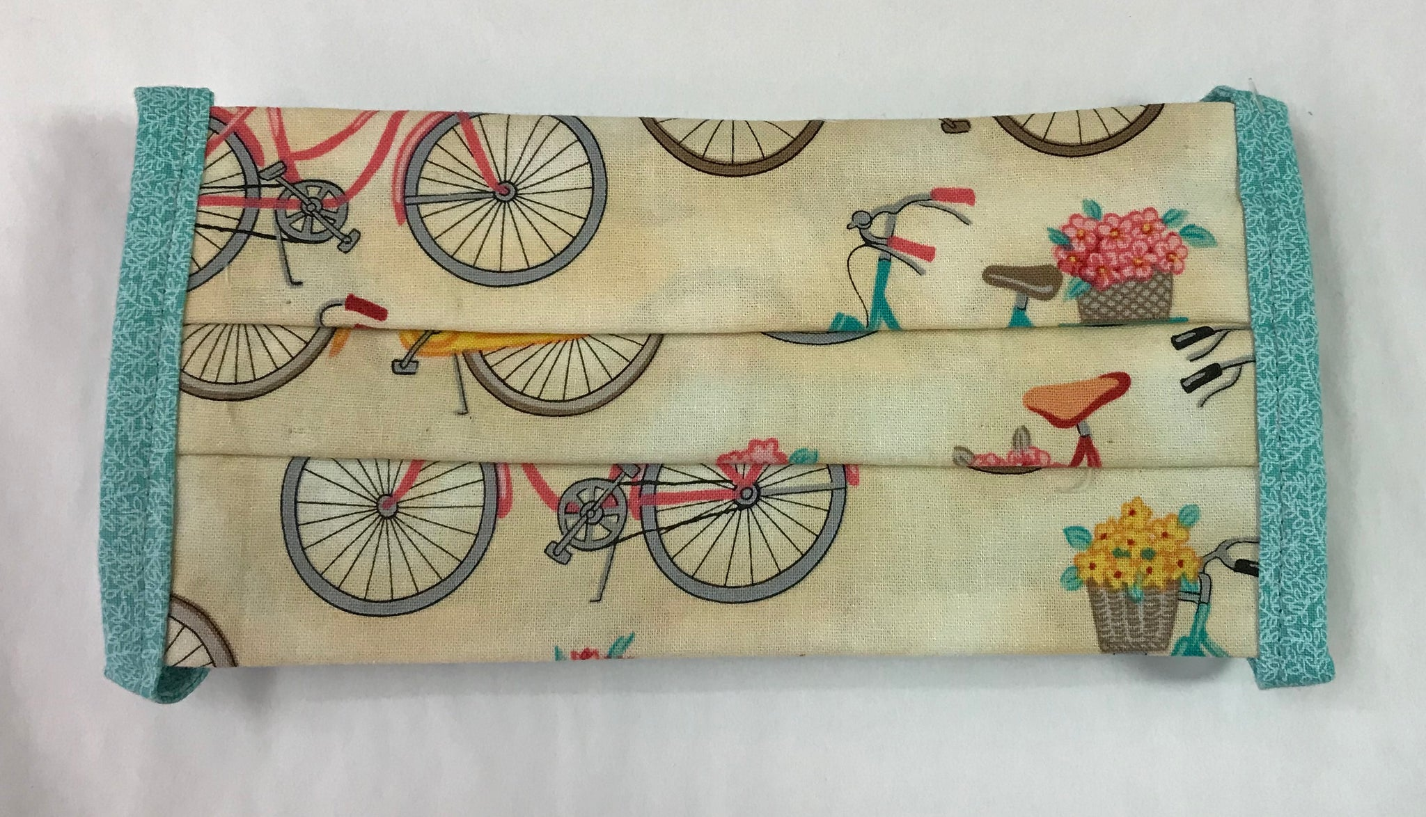 Bicycle Print Face Mask
