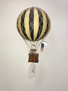Black Hot Air Balloon Medium