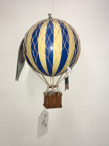 Blue Hot Air Balloon Medium