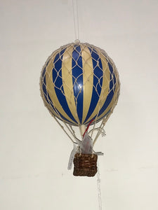 Blue Hot Air Balloon Small