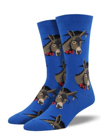 Men's Smart Ass Socks - Blue