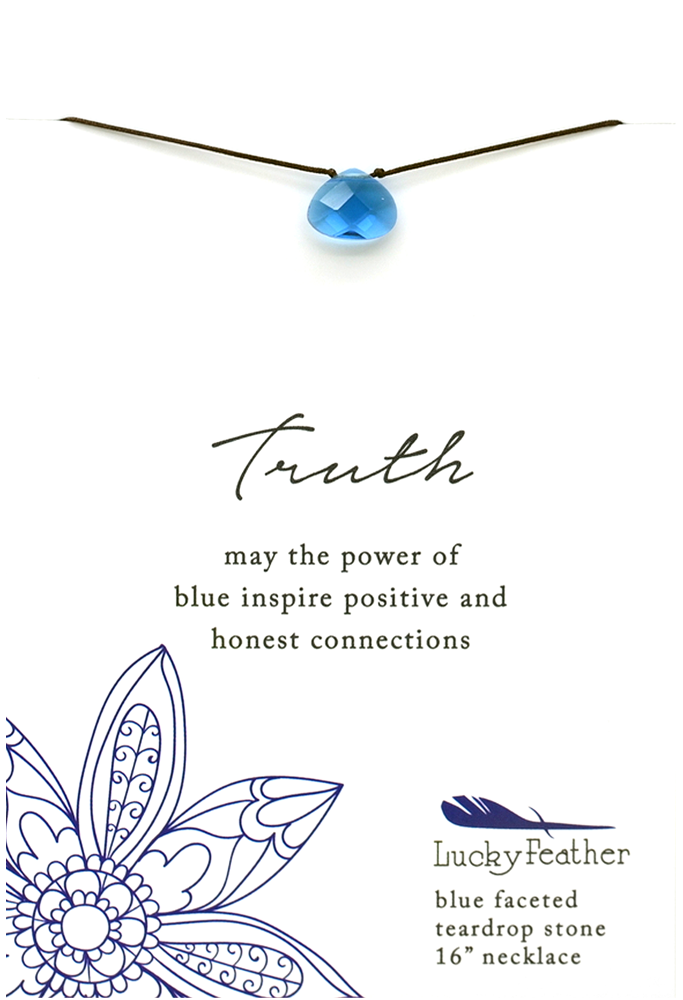 Blue Truth Necklace