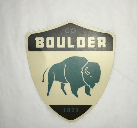 Boulder Buff Sticker