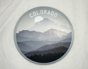 CO Sunset Sticker