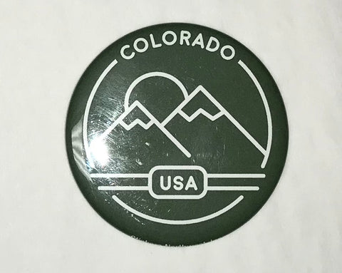 CO Mountains Magnet