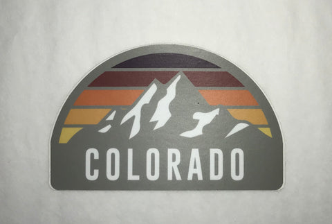 Sunset Crest CO Sticker