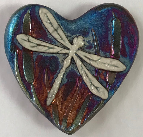 Dragonfly Blessed Heart