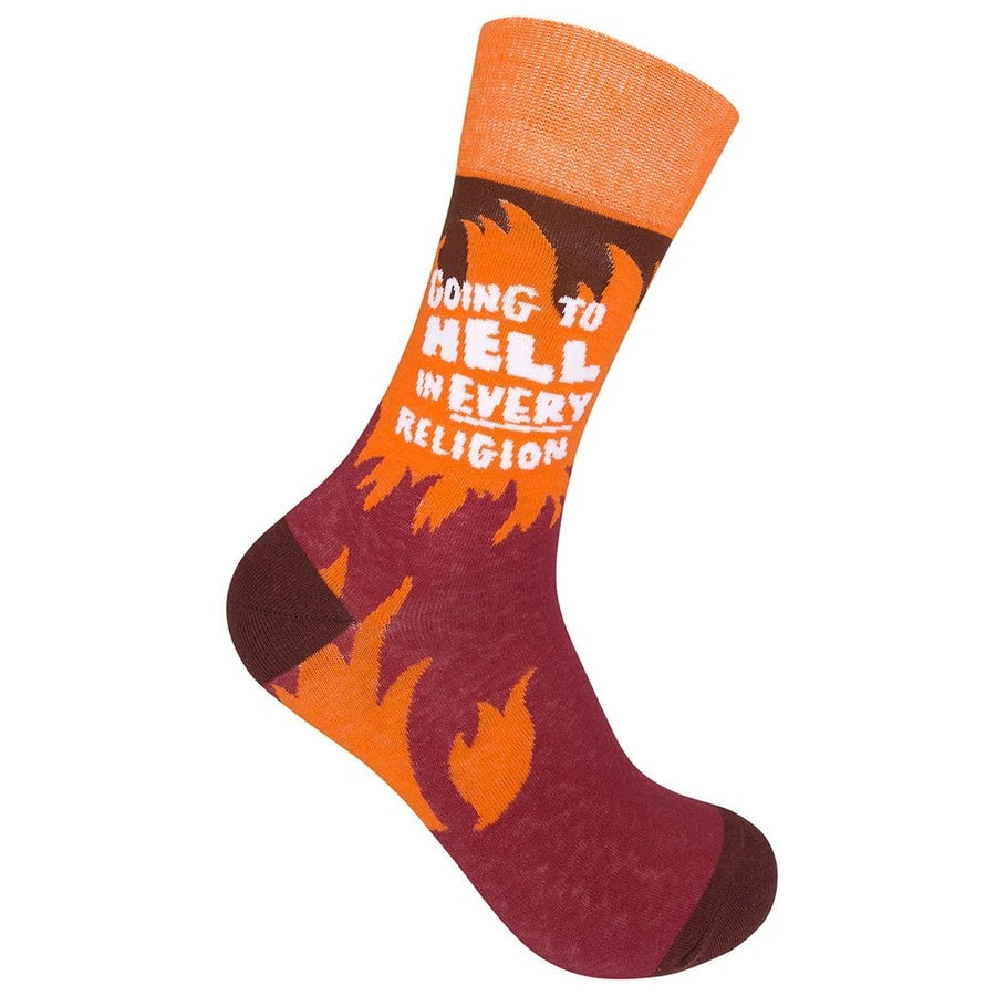 """Going To Hell"" Socks"