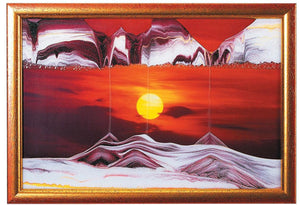 Sunset Small Movie Sand Art