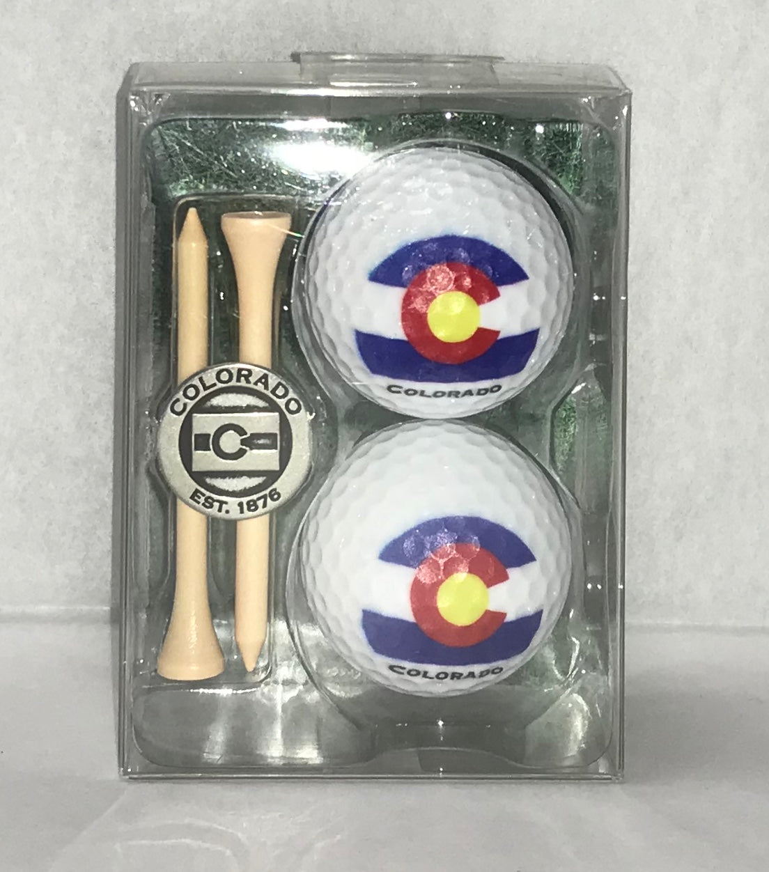 CO Flag Golf Ball Set