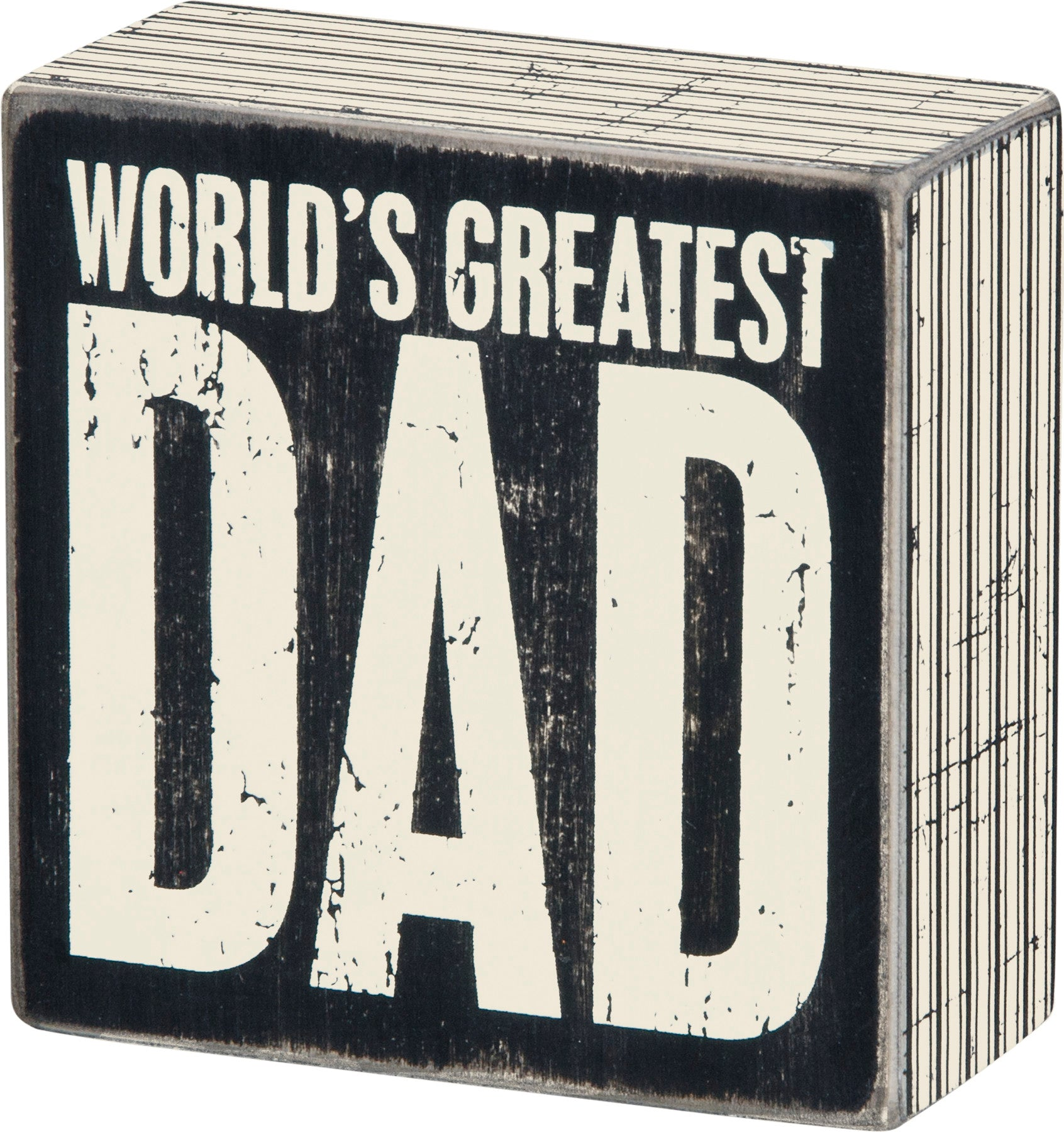 World's Greatest Dad Wall Sign