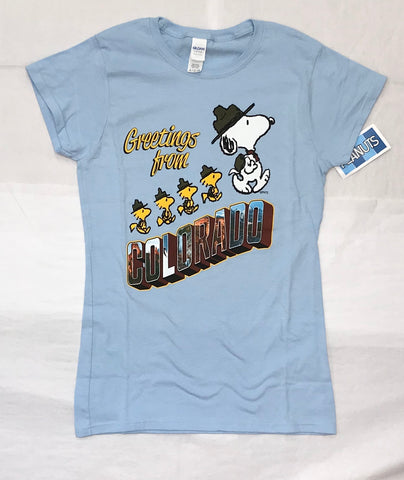 Snoopy Greetings Women's Tee