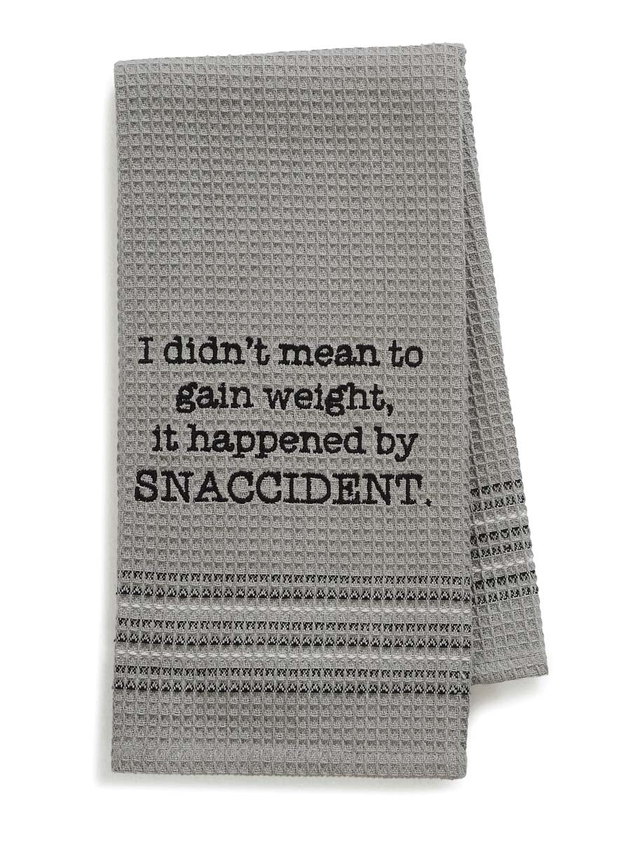 It Happened by Snaccident Kitchen Towel