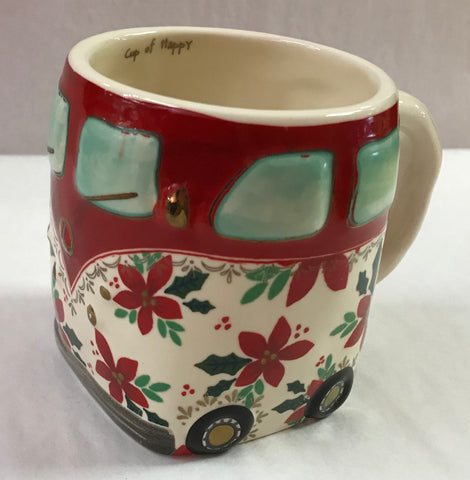 Holiday Van Folk Mug