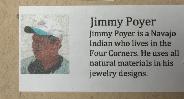 Asymmetrical Multi-stone Necklace by Jimmy Poyer