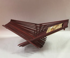 Medium Red Chopstick Art Folding Basket