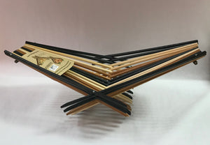 Medium Tri-tone Chopstick Art Folding Basket