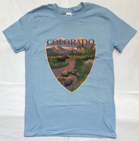 Moose & Mountain Stream Men's Tee