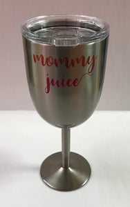 Mommy Juice Travel Wine Goblet