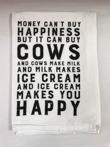 Can Buy Cows Kitchen Towel