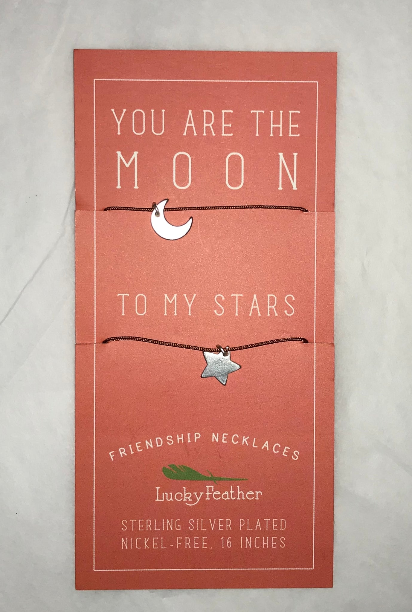 Moon To My Stars Friendship Necklaces