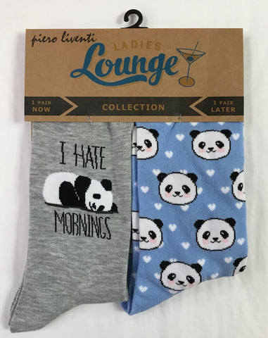 Morning Panda Sock Set