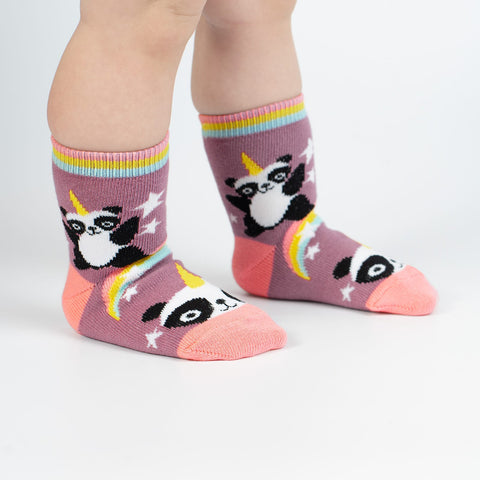 Pandacorn Toddler Socks