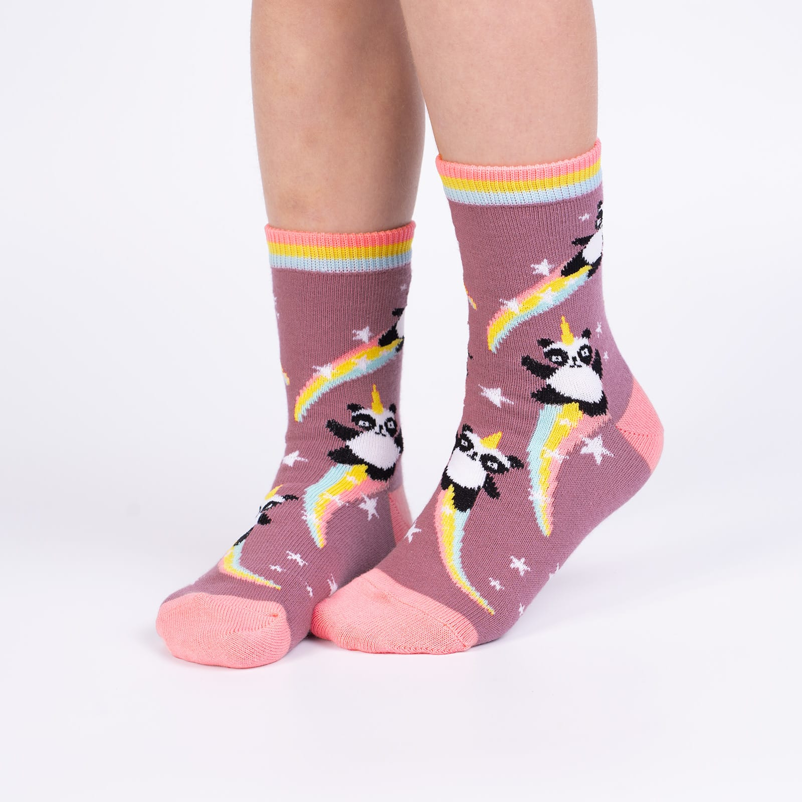 Pandacorn Youth Socks