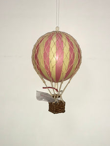 Pink Hot Air Balloon Small